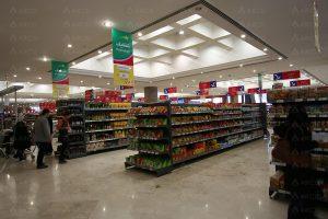 نحوه چیدمان سوپرمارکت